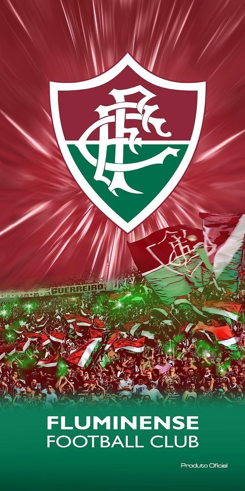 Toalha Aveludada Time de Futebol - Fluminense   Buettner