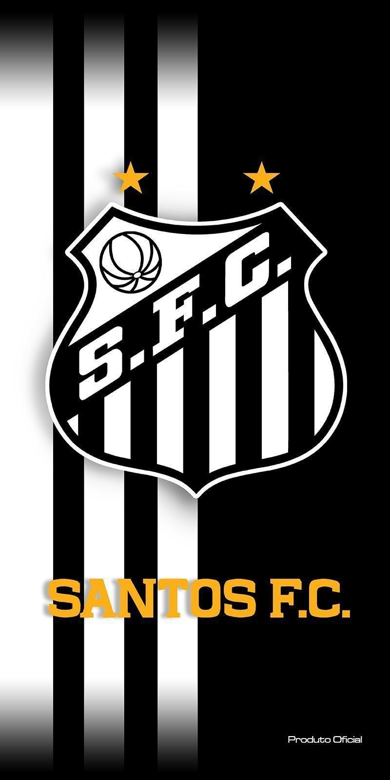Toalha Aveludada Time de Futebol - Santos | Buettner