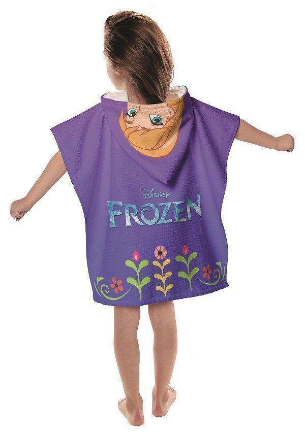 Toalha Poncho Com Capuz Anna Frozen | Lepper
