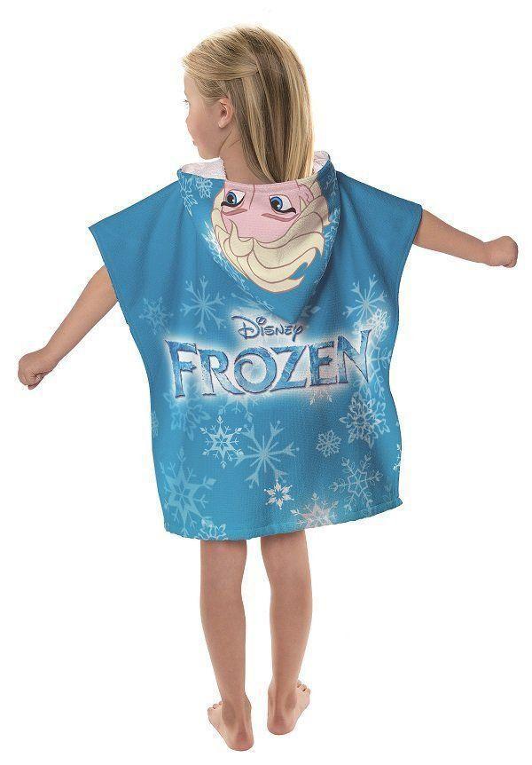 Toalha Poncho Com Capuz Elsa Frozen | Lepper