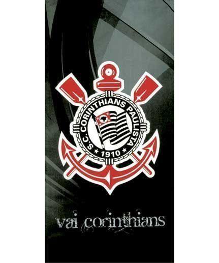 Toalha Praia Dohler Velour Corinthians   Dohler