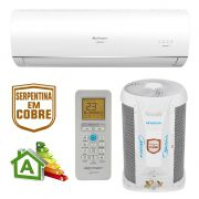 Ar Condicionado Split High Wall Inverter Springer Midea Airvolution Só Frio 12000 BTUs 42MACT12S5 - 220v