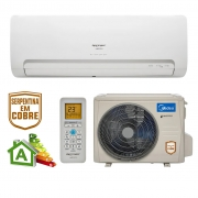Ar Condicionado Split High Wall Inverter Springer Midea Xtreme Save Só Frio 24000 BTUs 42AGCA24M5 - 220v