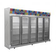 Expositor Refrigerado Auto Serviço Vertical Fricon Frost Free Cinza ACFM2375 - 220v