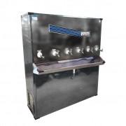 Bebedouro Industrial De Coluna Só Aço 220L/H Inox Bi06ti - 127v