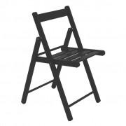 Cadeira Dobrável Em Madeira Teca Tabaco Lille 78x56x34cm Tramontina