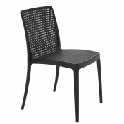 Cadeira Em Polipropileno Isabelle 82,5x50x55cm Tramontina - Preto