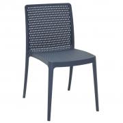 Cadeira em Polipropileno Isabelle 83x56x47cm Tramontina - Azul Navy