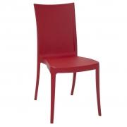 Cadeira em Polipropileno Laura Ratan 88,5x44x55,5cm Tramontina - Vermelha