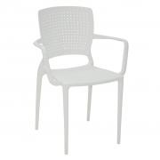 Cadeira em Polipropileno Safira 83,5x58x42cm Tramontina - Branca