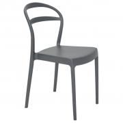 Cadeira Em Polipropileno Sissi Summa 80x43,5x52,5cm Tramontina - Grafite