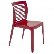Cadeira Em Polipropileno Victória 82x47x52cm Tramontina - Vermelho