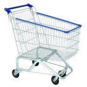 Carrinho De Supermercado 130L Azul Sá