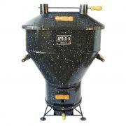 Churrasqueira Apolo 9 à Gás ou Carvão Esmaltada