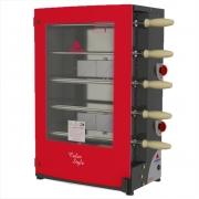 Churrasqueira Rotativa à Gás Com 5 Espetos PRR-051 G2 Progás - 127/220v