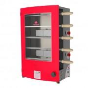 Churrasqueira Rotativa à Gás Para 5 Espetos PRR-051 Progás - 127/220v