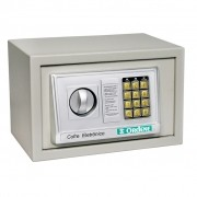 Cofre Eletrônico Com Senha e Chave Ordene OR38000 Cinza - 31x20x20cm