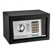 Cofre Eletrônico Com Senha e Chave Ordene OR38100 Preto - 31x20x20cm