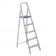 Escada de Alumínio Doméstica 1,61m SBA Alustep
