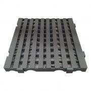 Estrado modular cinza    medio della plast tam. 4,5x50x50 cm ref. 7200.20