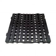 Estrado Modular Della Plast Preto 4,5x50x50cm