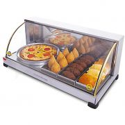 Estufa vidro curvo   3 bandejas+porta pizza marchesoni 127v suprema mod. ef.3.0