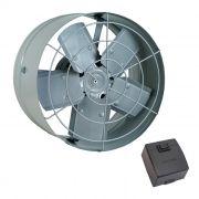 Exaustor axial   30 cm ventisol 1/6 hp monofasico 127v mod. 437