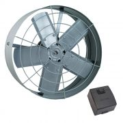 Exaustor axial 40 cm ventisol 1/5 hp monofasico 220v mod. 443