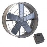 Exaustor axial 50 cm ventisol 1/4 hp monofasico 127v mod. 444