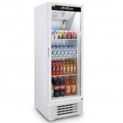 Expositor Refrigerado de Bebidas Vertical Refrimate Branco 400L - 220V
