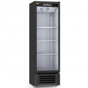 Expositor Refrigerado de Bebidas Vertical Refrimate Preto 400L - 220V