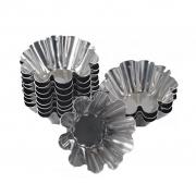 Forminha Estrelinha Em Alumínio - 12 Unidades