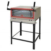 Forno a gas em inox  refratario p/ pizza progas mod.prp-770 ref. p30636