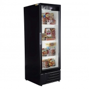 Freezer Conservador Expositor Vertical Frilux 1 Porta 560L Preto RF-011 - 127V