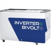 Freezer Conservador Horizontal Fricon Inverter 411L Branco HCEB411 V - Bivolt