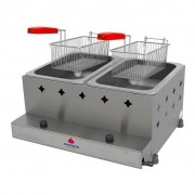 Fritadeira à Gás 10L Inox com 2 Cestos PR-20G Progás