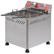 Fritador eletr.a oleo e agua 25lts 2 cestos 220v marchesoni mesa mod. ft-2.252