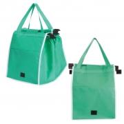 Kit Com 2 Sacolas Reutilizáveis Grab Clip EcoBag