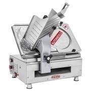 Nr-12 cortador de frios inox automatico 300mm 127/220v bermar mod. bm-18