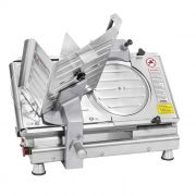 Nr-12 cortador de frios inox semi-automatico 250 mm 127/220v bermar ref. bm-17