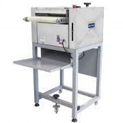 Modeladora p/ pao 35cm 127v em inox c/ pedestal visa 1/3 cv mpc127 nr-12
