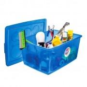 Organizador Plástico com Trava 60L Ordene