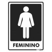 Placa Feminino PS65 (20x15cm)