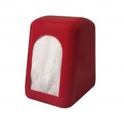 Porta Guardanapo 600ml vermelho Tok Mercantil