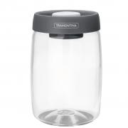 Pote de Vidro Purezza Com Tampa Plástica a Vácuo 1,2L Tramontina