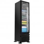 Refrigerador Expositor Para Bebidas Vertical 230L Imbera VR08 Preto - 127v