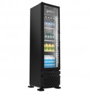 Refrigerador Expositor Para Bebidas Vertical 230L Imbera VR08 Preto - 220v