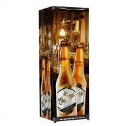 Refrigerador vert.p.cega esmaltec 300lt 220v cervejeira ref.cv300r