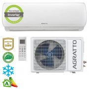 Ar Condicionado Split High Wall Inverter Agratto Bio Frio Só Frio 24000 BTUs dcs24fr4 - 220v