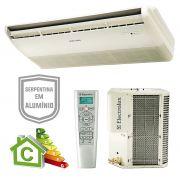 Split teto/piso 58/60.000 btus 220v 3f electrolux r-410 mod.ci60f / ce60f